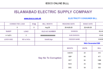 iesco bill online