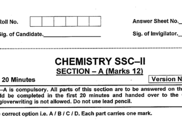 Chemistry MCQs for Class 10