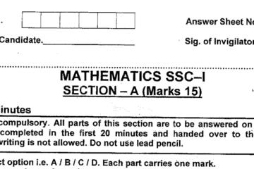 Maths MCQs for Class 9